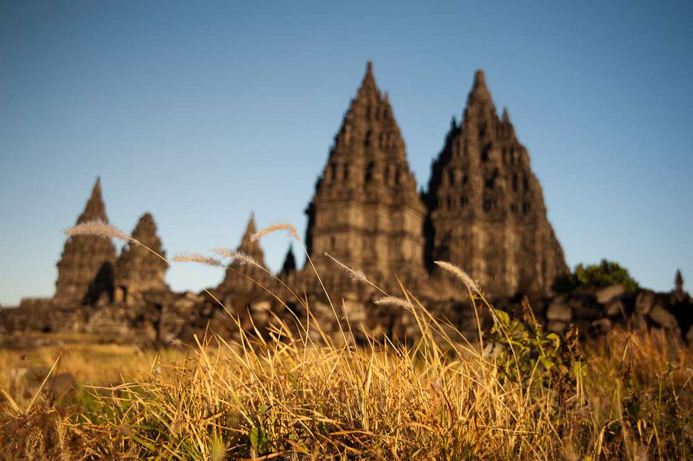 Indonesien – Merapi und Prambanan Tempel