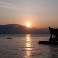 Sonnenaufgang am Tobasee