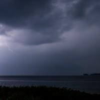 Gewitter über den Banyak Islands