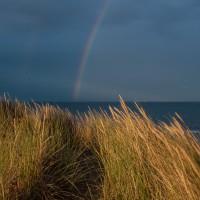 Regenbogen überm Skagerak