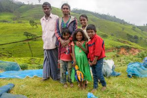 Tamilen-Familie