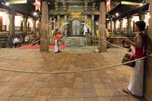 Traditionelle Musik im Zahntempel